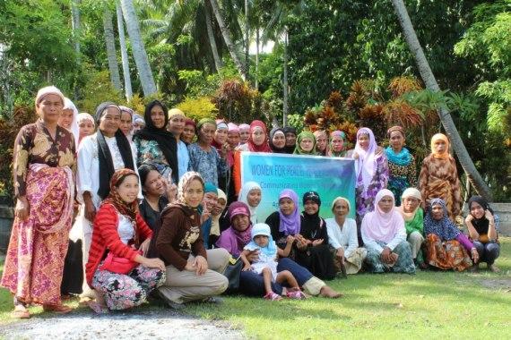 Women Participants in Brgy. Malingao, Midsayap North Cotabato.